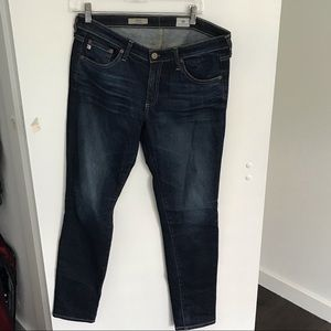 AG Jeans Cigarette Skinny stretch denim size 30R